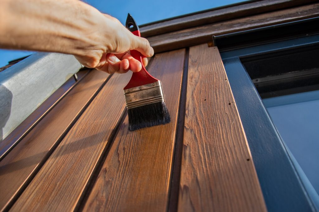Exterior paining services